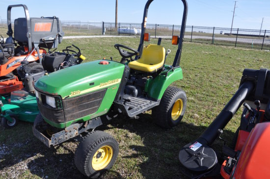 JD 2210 compact utility tractor