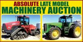 Absolute Late Model Farm Machinery Auction