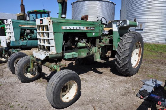 67 Oliver 1850 2WD Tractor
