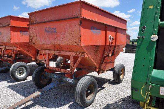 Killbros. 350 gravity wagon on Killbros. 1072 10-ton running gear