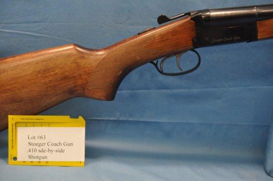Stoeger Coach Gun  410 Side by    Auctions Online | Proxibid
