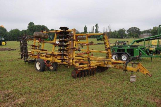 Kent 6320 Disc-O-Vator 18' soil finisher