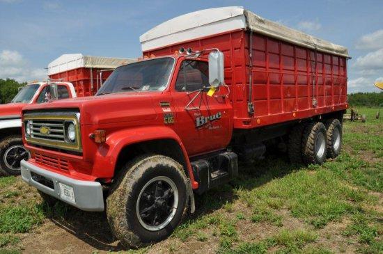 '76 Chevrolet C65 tandem axle grain truck