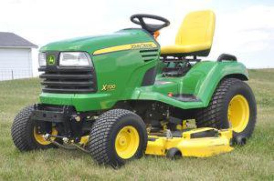 JD X720 Ultimate riding lawn mower