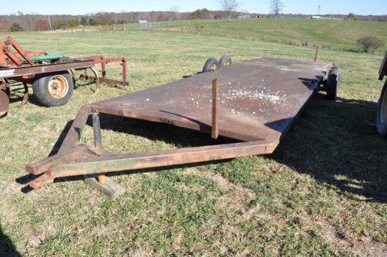 JD 28' implement trailer