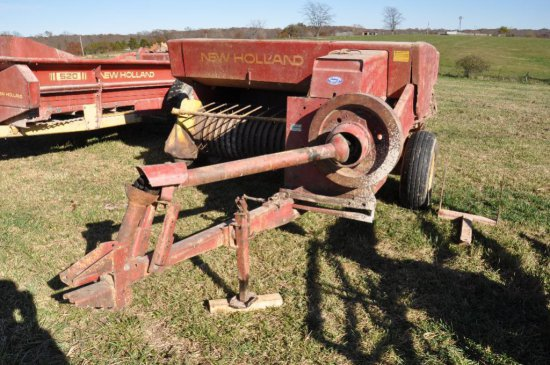 NH Hayline 276 small square baler