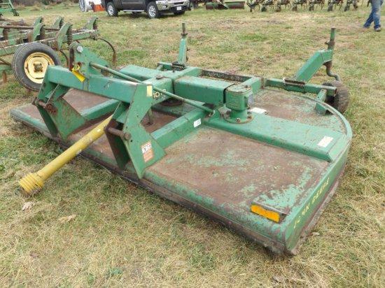 '94 JD 1018 10' 3pt rotary cutter