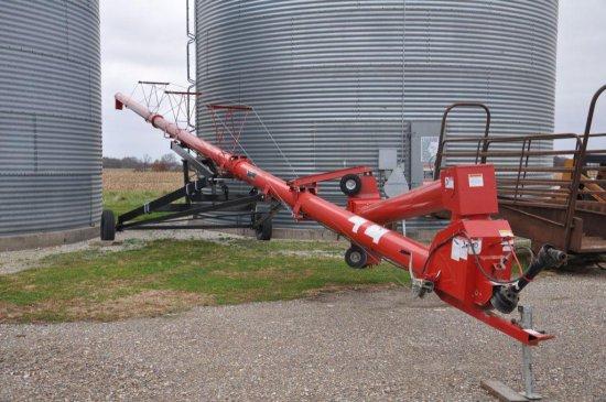 "Wheatheart SA1071 10""x 71' swing away grain auger"