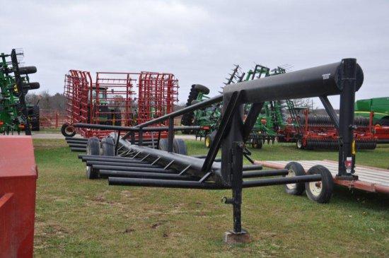 Hoover heavy duty GN 18-bale trailer