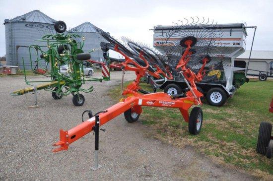 Kuhn Speedrake SR108 GII 8-wheel rake