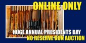 Sullivan Auctioneers President Day Firearm Auction