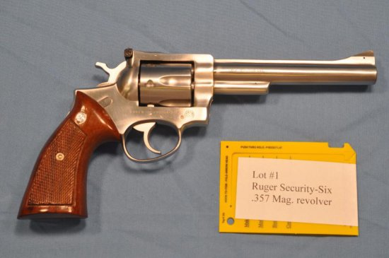 Ruger Security-Six .357 Mag. revolver