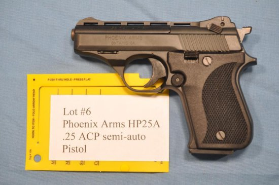 Pheonix Arms HP 25 A .25 ACP Semi Automatic Pistol