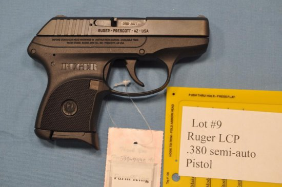 Ruger LCP .380 Semi Automatic Pistol