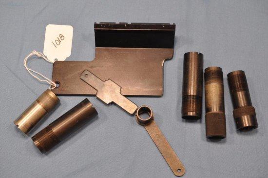 Choke tubes, wrenches & scope mount