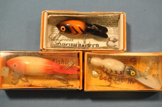 (3) Bomber Lures w/boxes