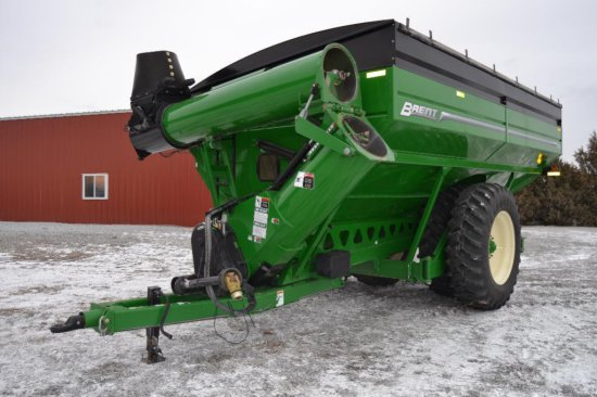 '15 Brent 1196 grain cart