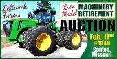 Leftwich Farms Retirement Machinery Auction