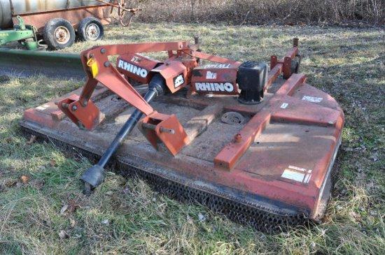 Rhino TW120 10' 3pt rotary mower