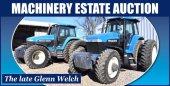Welch Estate Farm Machinery Auction