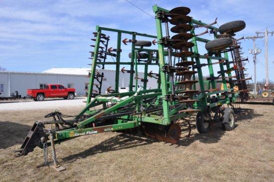 Great Plains 6326DW 28' soil finisher