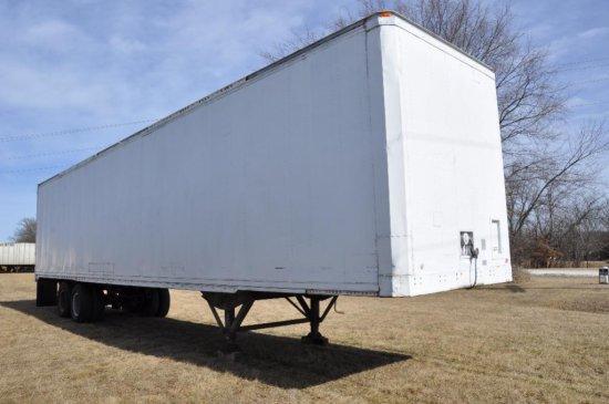 '88 Stoughton van trailer
