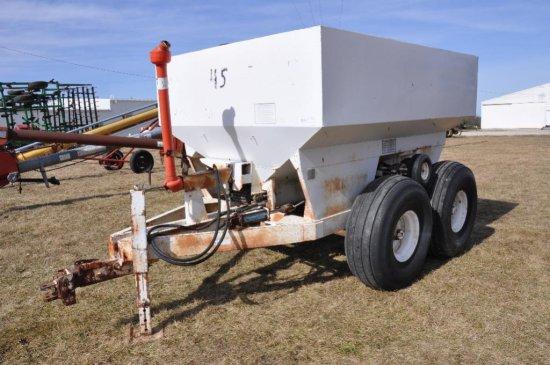 JT Industries 6-ton fertilizer spreader