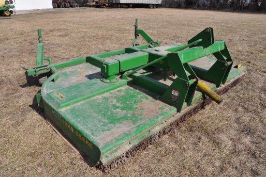 JD 1018 10' 3pt rotary cutter