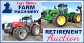 Bell No Reserve Farm Machinery Retirement Auction