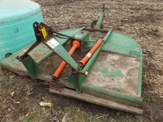 JD 709 7' 3-pt. rotary mower, 540 PTO