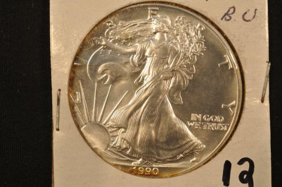 1990 Silver Eagle One Ounce Silver Dollar