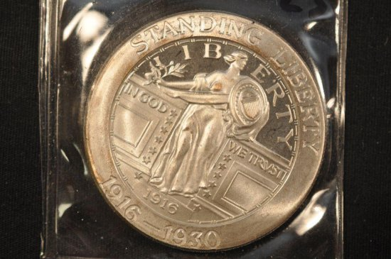 Standing Liberty One Ounce Silver Coin