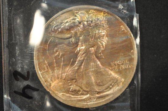 1987 One Ounce Silver Coin