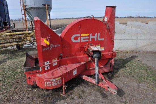 """Gehl 1580 """"Vortex"""" silage blower"""