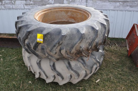 18.4R38 clamp on duals