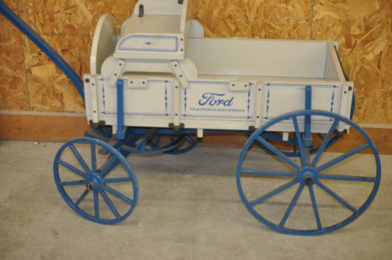 FORD DEALERSHIP GOAT/CHILDS WAGON