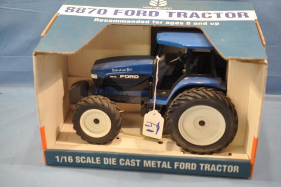 SPEC CAST 1/16TH SCALE FORD 8870 TRACTOR, SOME DUST