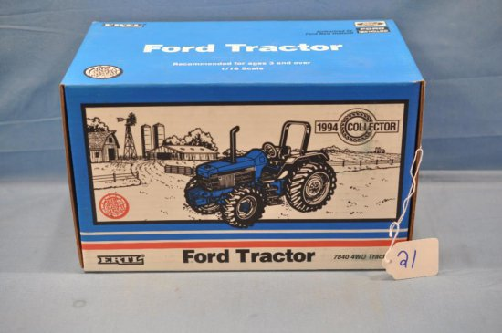 ERTL 1/16TH SCALE FORD 5640 TRACTOR, 1994 COLLECTOR