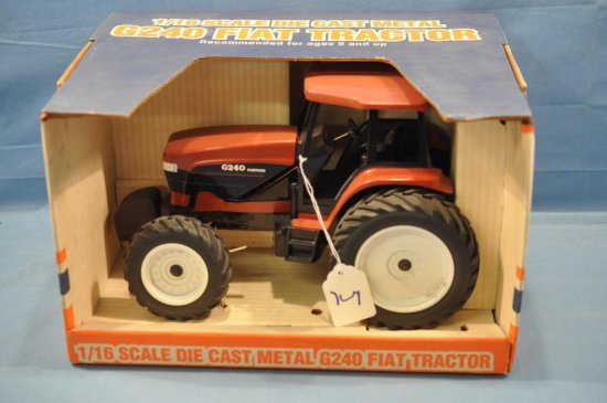 SPEC CAST 1/16TH SCALE FIAT G240 TRACTOR