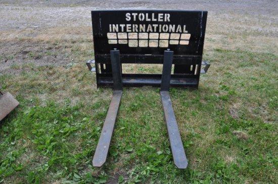 """48"""" pallet forks for skid steer"""