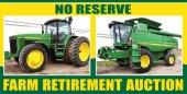 Wogen No Reserve Retirement Machinery Auction