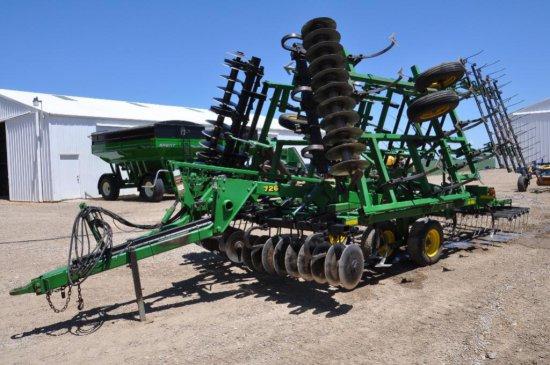 """'00 JD 726 24' 9"""" soil finisher"""