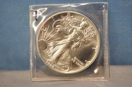1989 Silver Eagle