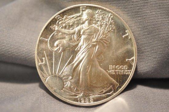 1988 Silver Eagle