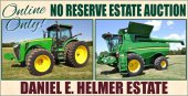 Daniel E. Helmer Estate Absolute Machinery Auction