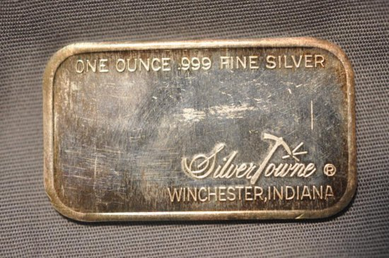 One Ounce Silver Bar