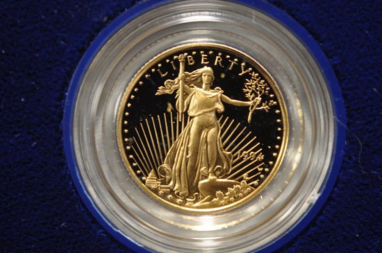 1994 One-Tenth Ounce American Eagle Proof Gold Bullion Coin
