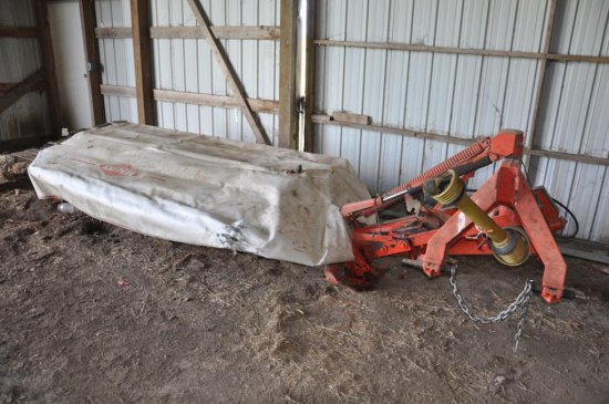 Kuhn GMD700 9' 3 pt. rotary disc mower