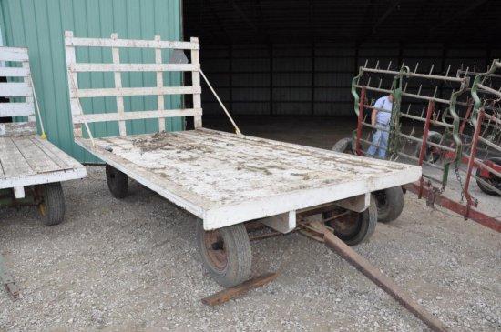 16' hay rack on running gear