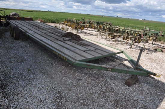 JD 30' implement trailer